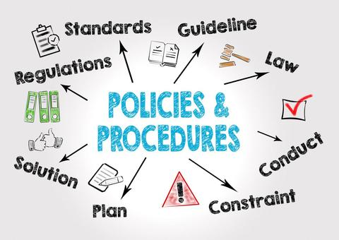 Data Management Specialists. Data governance. Policies and procedures image.